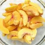 Sliced Peaches