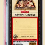 Havarti Cheese (sliced)